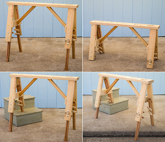 LEVEL It® Workbench, LEVEL It® Sawhorse, LEVEL It® Tool Stand, LEVEL It®  Work Surface, LEVEL It® Workshop, Is One Multi Purpose Tool For All Of Your  Work ...